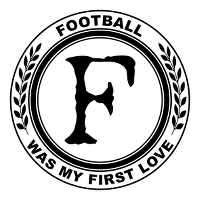 Football was my first love Logo
